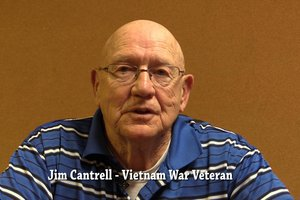 Jim Cantrell talks about his time in Vietnam