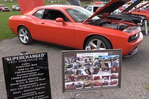 The fifth annual Marketville car show