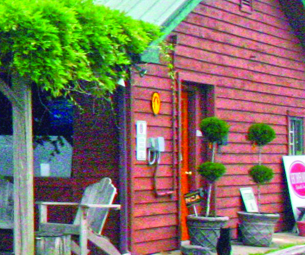 Burlap Room outside